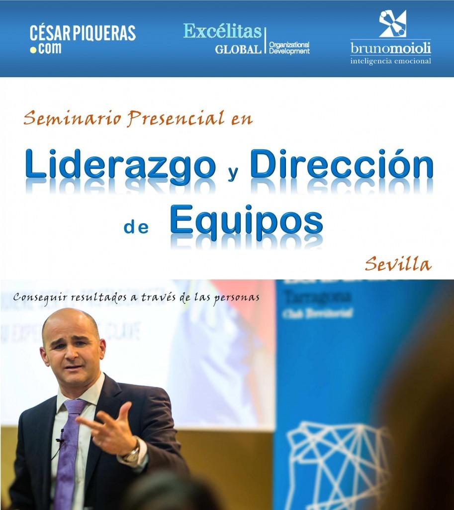 Cesar Piqueras en Sevilla con Bruno Moioli